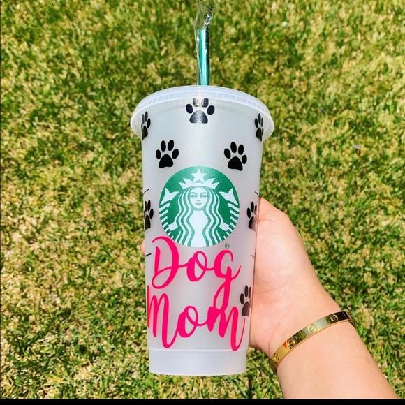 Dog Mom Reusable Cold Cup